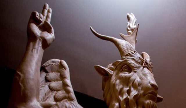 άγαλμα-σατανά